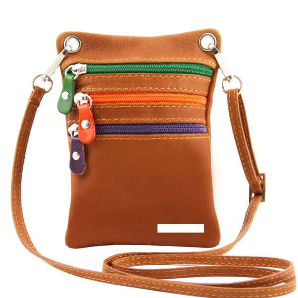 Италианска малка чанта от естествена кожа TL Bag TL141094