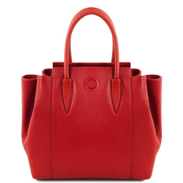 Италианска чанта от естествена кожа Tulipan TL141727