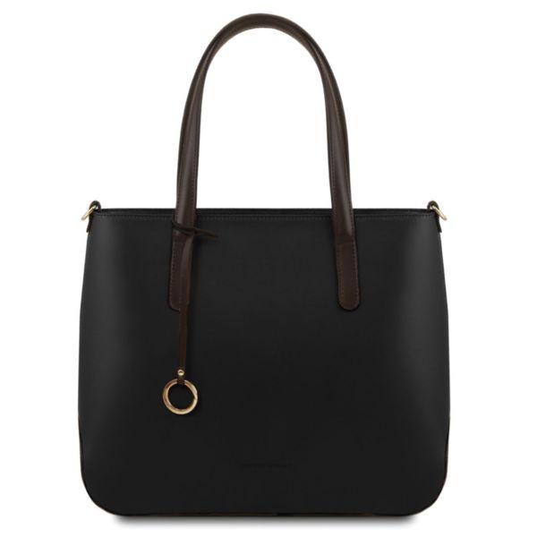 Италианска чанта от естествена кожа Penelope