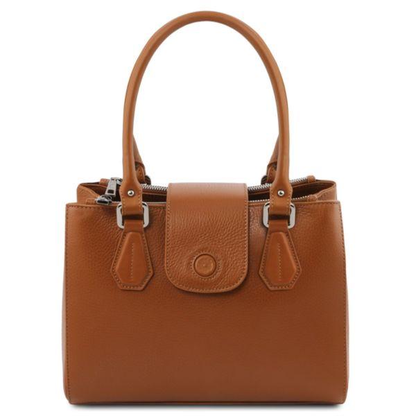 Италианска чанта от естествена кожа Fiordaliso