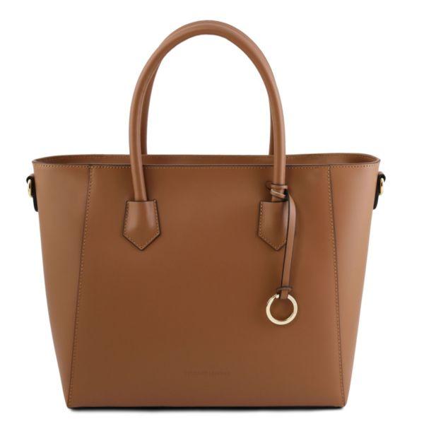Италианска чанта от естествена кожа Aria