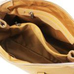 Италианска чанта от естествена кожа Lilia