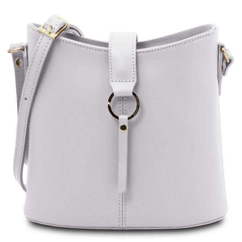 Италианска чанта от естествена кожа Teti