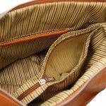 Италианска чанта от естествена кожа Yvette