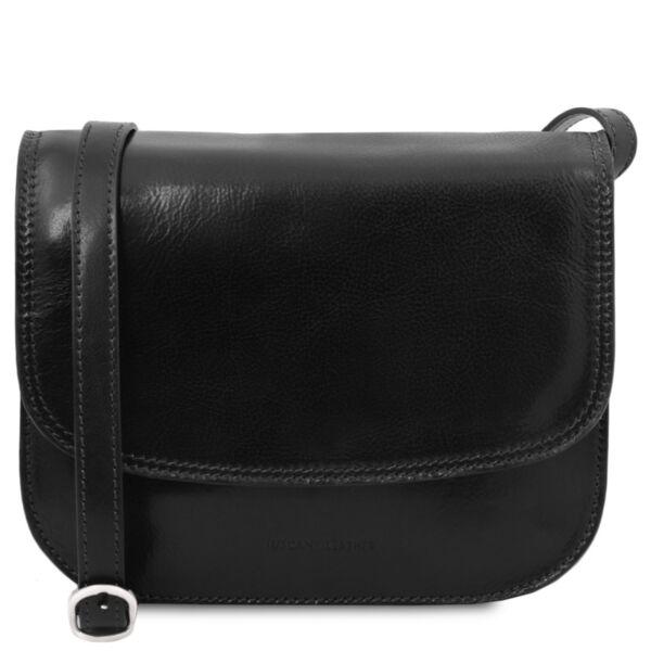 Италианска чанта за рамо от естествена кожа Greta