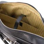Италианско кожено куфарче за лаптоп от естествена кожа TREVISO TL141986