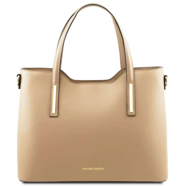 Италианска чанта от естествена кожа Olimpia TL141412
