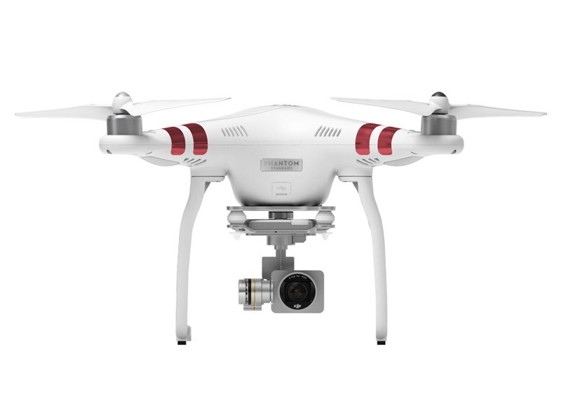 Drone with optional camera