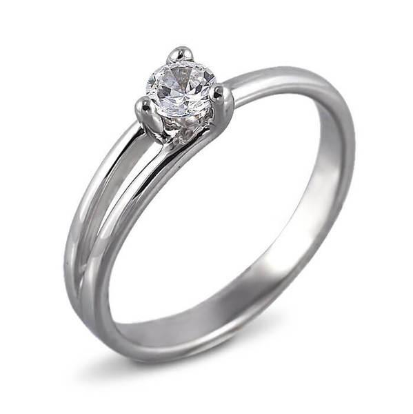 """Златен годежен пръстен """"ВИКТОРИ"""" R-1175"""
