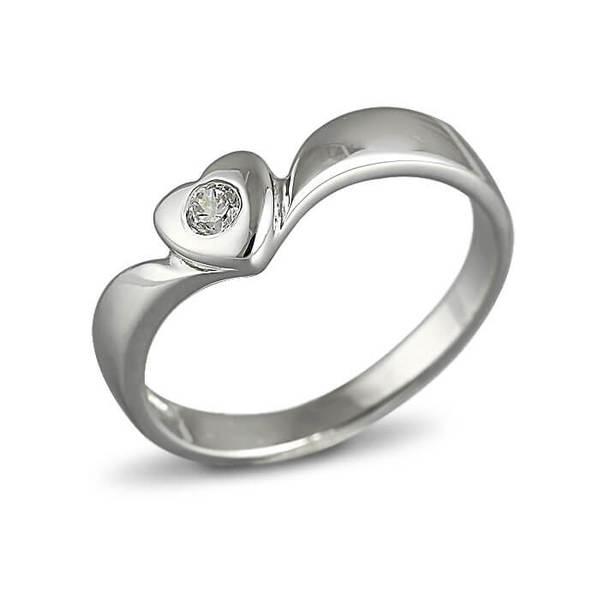 """Златен годежен пръстен """"ЛЮБОВ"""" R-1140"""