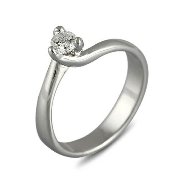 """Златен годежен пръстен """"ИСКРА"""" R-1135"""