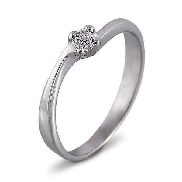 """Златен годежен пръстен """"ПЪТ"""" R-1111"""