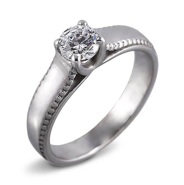 """Златен годежен пръстен """"БЛЯСЪК"""" R-1169"""