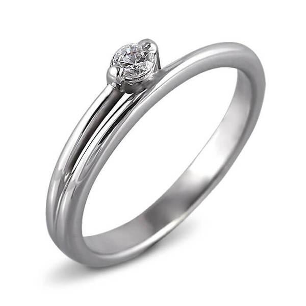 """Златен годежен пръстен """"УСТРЕМ"""" R-1172"""
