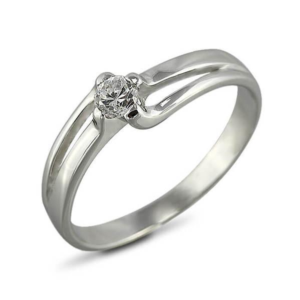 """Златен Годежен пръстен """"ДИХАНИЕ"""" R-1112"""