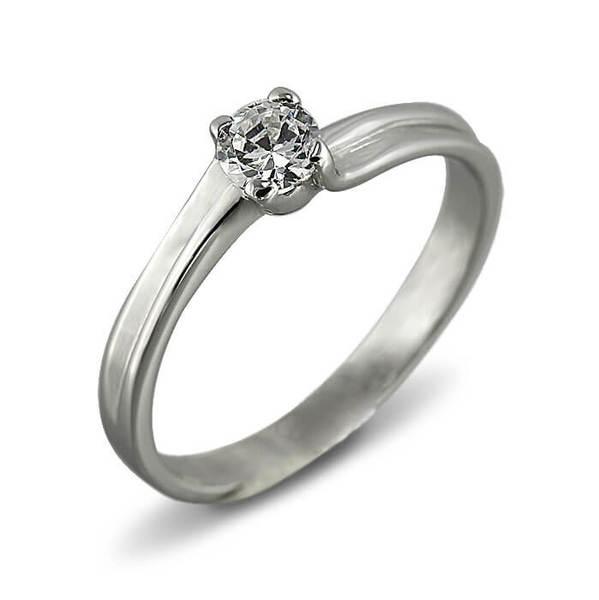 """Златен годежен пръстен """"УСТОИ"""" R-1093"""