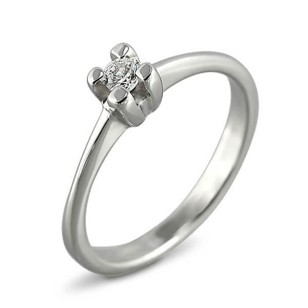 """Златен годежен пръстен """"ЧЕСТ"""" R-1096"""