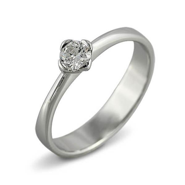 "Златен годежен пръстен ""ПРЕЛЕСТ"" R-1108"