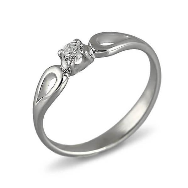 """Златен годежен пръстен """"ПОЛЪХ"""" R-1025"""