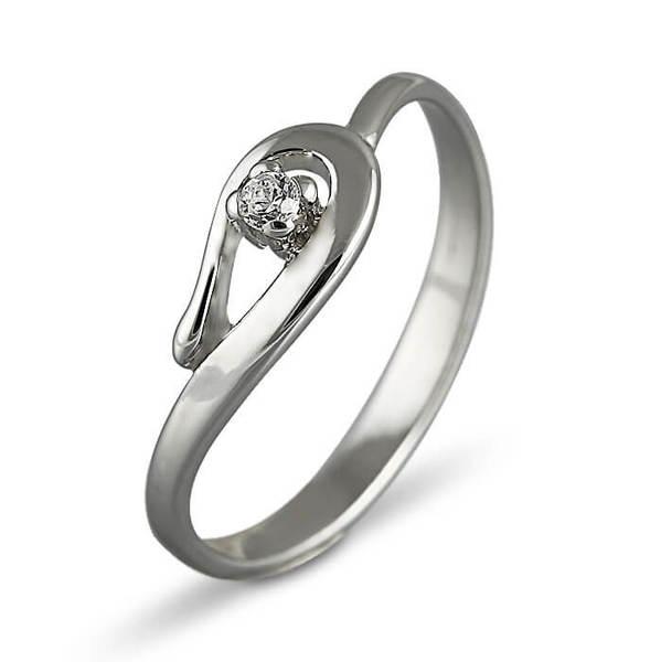 """Златен годежен пръстен """"МИГ"""" R-1019"""