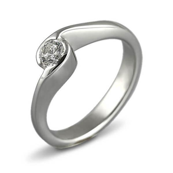 """Златен годежен пръстен """"ВИХЪР"""" R-1132"""