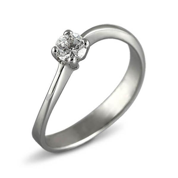 "Златен годежен пръстен ""УХАНИЕ"" R-1092"