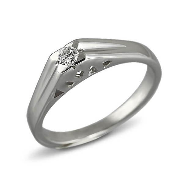 """Златен годежен пръстен """"ВПРЯГ"""" R-1167"""