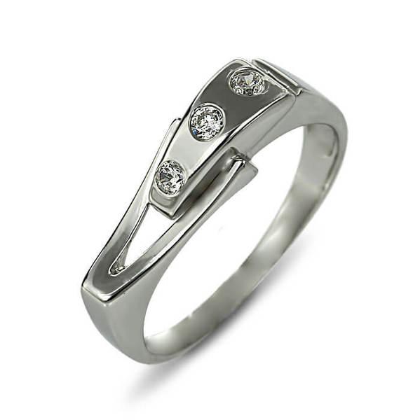 """Златен годежен пръстен """"РИТЪМ"""" R-1033"""