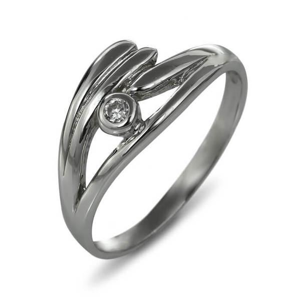 """Златен годежен пръстен """"БРИЗ"""" R-1139"""
