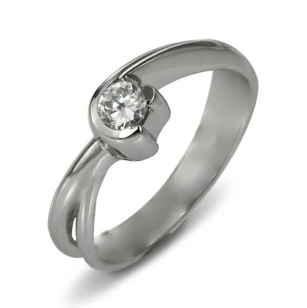 "Златен годежен пръстен ""ПОЛЕТ"" R-1157"
