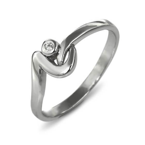 "Златен годежен пръстен ""РАДОСТ"" R-1156"