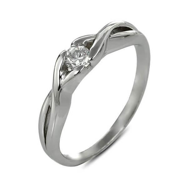 "Златен годежен пръстен ""ЧАР"" R-1145"