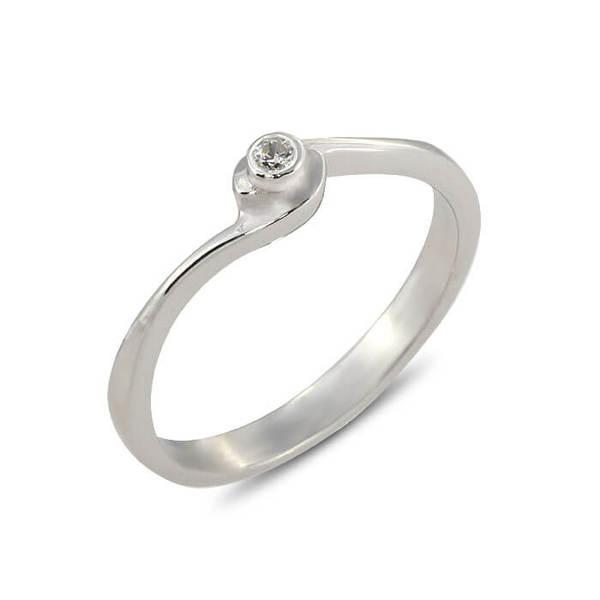 """Златен годежен пръстен """"ИГРИВ"""" R-1160"""