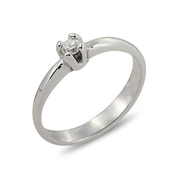 """Златен годежен пръстен """"СВЕТЪЛ"""" R-1166"""