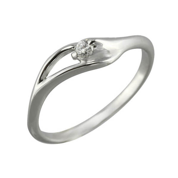"Златен годежен пръстен ""ПЛАМ"" R-1087"