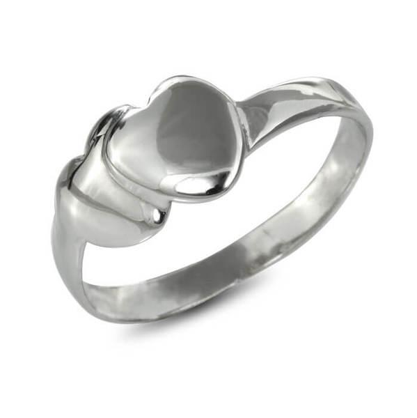 """Златен годежен пръстен """"СЪРЦА"""" R-1073"""