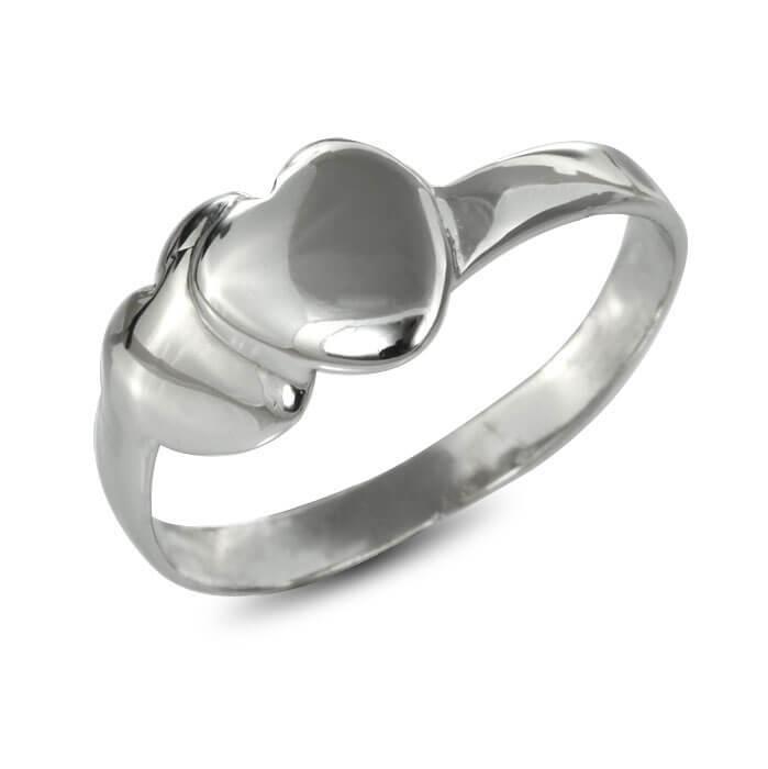 Годежен пръстен бяло злато