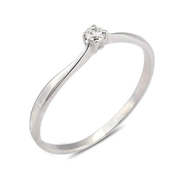 """Златен годежен пръстен """"ГРАЦИЯ"""" R-1095"""