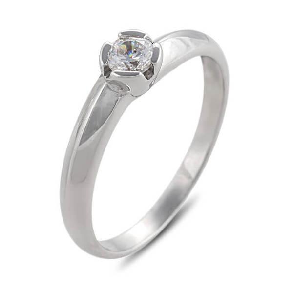 """Златен годежен пръстен """"ВОЛЕН"""" R-1109"""