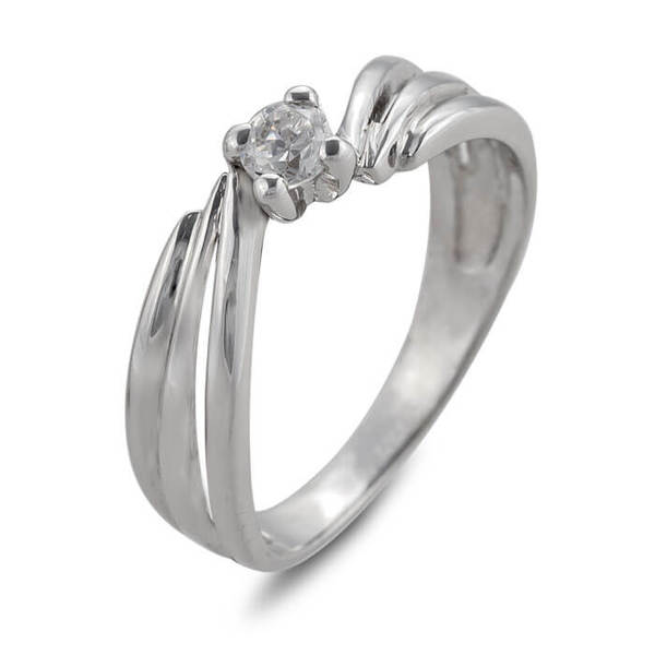 """Златен годежен пръстен """"ТРЕПЕТ"""" R-1106"""