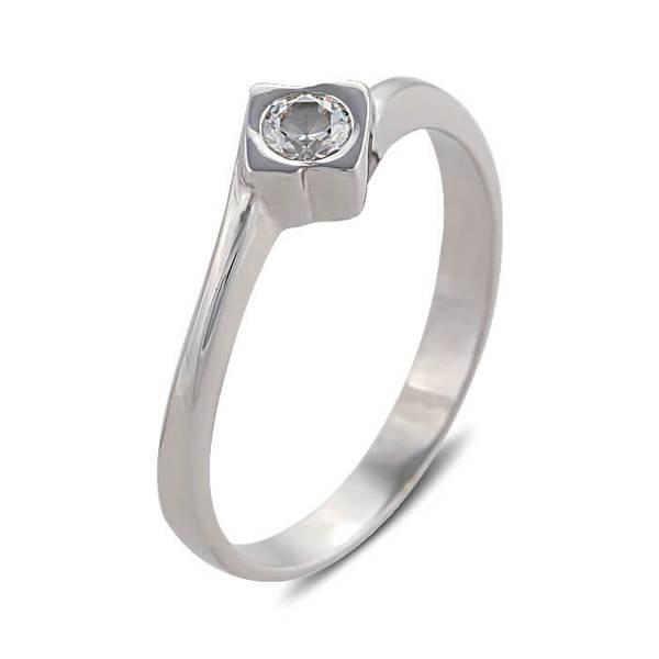 """Златен годежен пръстен """"ЗАВЪРТЯН"""" R-1107"""
