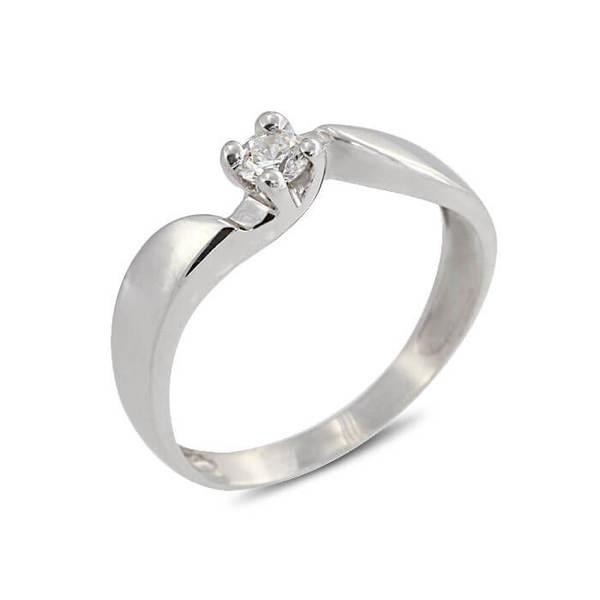 """Златен годежен пръстен """"МИЛ"""" R-1113"""