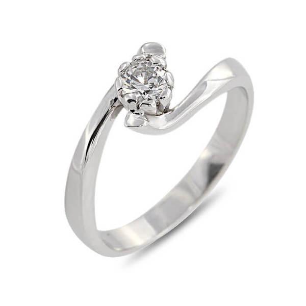 """Златен годежен пръстен """"МЕЛОДИЯ"""" R-1103"""