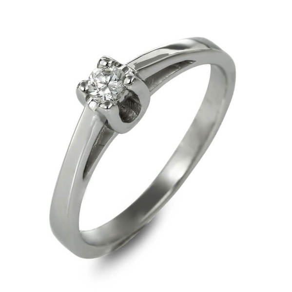 """Златен годежен пръстен """"ПЪТ"""" R-1159"""