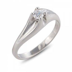 """Годежен пръстен """"СМЕЛ-цирконии"""" R-1098B"""