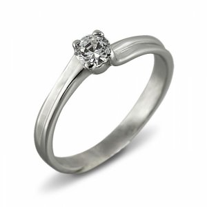 """Годежен пръстен """"УСТОИ-цирконии"""" R-1093"""