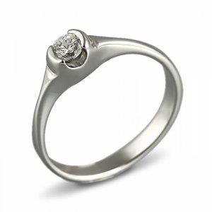 """Годежен пръстен """"БИСЕР-цирконии"""" R-1133"""