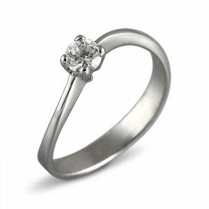 """Годежен пръстен """"УХАНИЕ-цирконии"""" R-1092"""