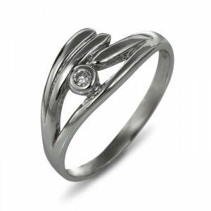 """Годежен пръстен """"БРИЗ-цирконии"""" R-1139"""