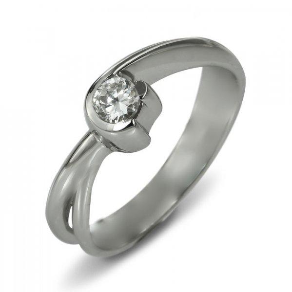 "Годежен пръстен ""ПОЛЕТ-цирконии"" R-1157"